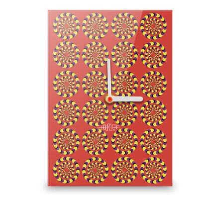Hourleaf Circles Illusion Wall Clock