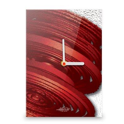 Hourleaf Breakout Wall Clock