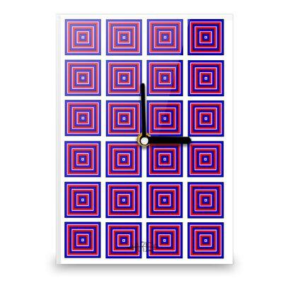Hourleaf Square Illusion Wall Clock