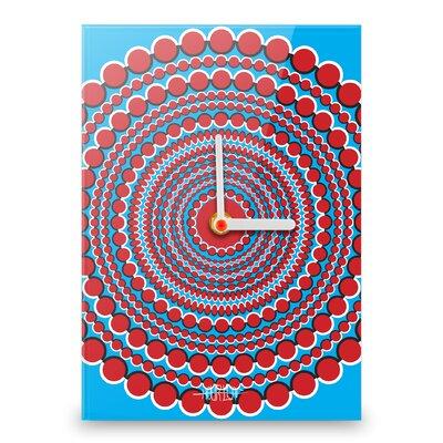Hourleaf Circle Illusion Wall Clock