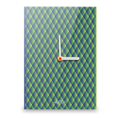 Hourleaf Diamonds Wall Clock