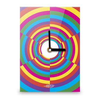 Hourleaf Abstract Circular Wall Clock