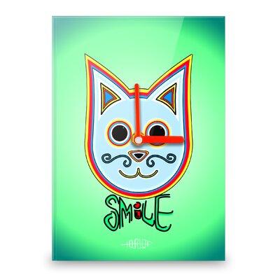 Hourleaf Simon the Cat Positive Wall Clock