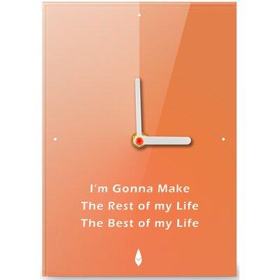 Hourleaf I'm Gonna Make It Clock