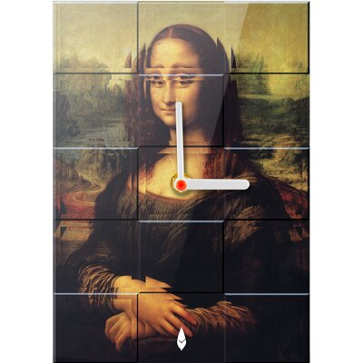 Hourleaf Mona Lisa Mangnified Clock