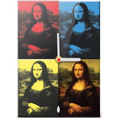 Hourleaf Mona Lisa Clock