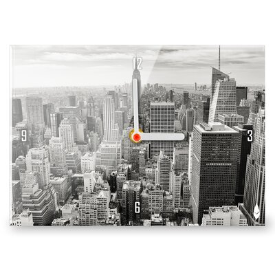 Hourleaf New York Skyline Clock
