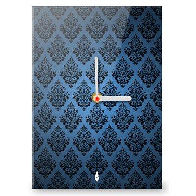 Hourleaf Floral Pattern Clock