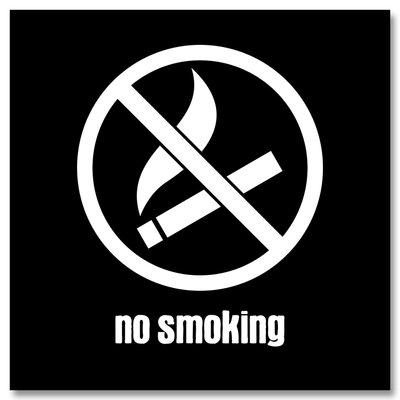 Cuadros Lifestyle No Smoking Wall Art