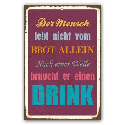 Cuadros Lifestyle Drink Plaque