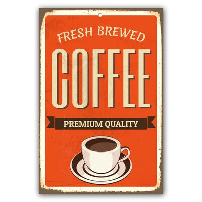 Cuadros Lifestyle Coffee Plaque