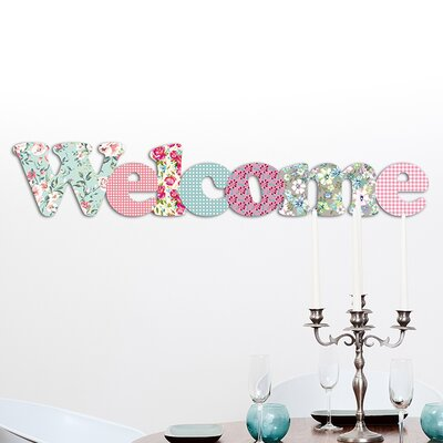 Cuadros Lifestyle Welcome Wall Décor