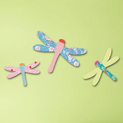 Cuadros Lifestyle Dragonflies Wall Décor Set