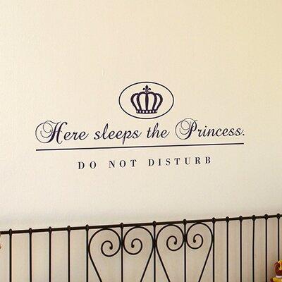 Cuadros Lifestyle Princess Wall Sticker