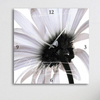 Cuadros Lifestyle Flower Wall Clock