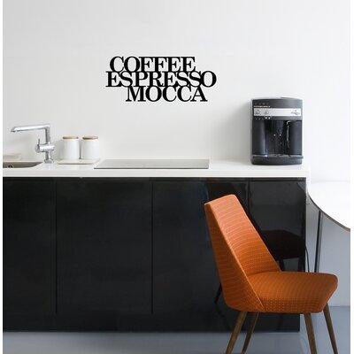 Cuadros Lifestyle Coffee - Espresso- Mocca Wall Tattoo