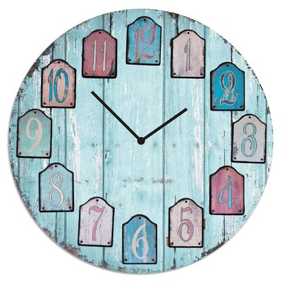 Cuadros Lifestyle Wooden Wall Clock