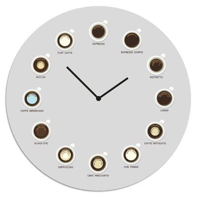 Cuadros Lifestyle Hot Drinks Wall Clock