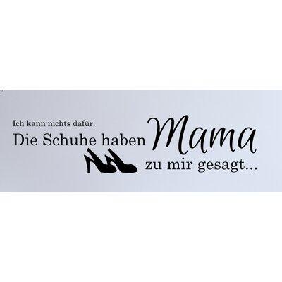 Cuadros Lifestyle Mummy Shoes Wall Tattoo