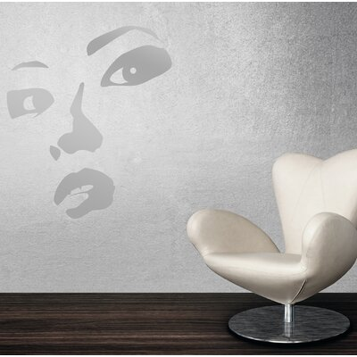 Cuadros Lifestyle Face Silhouette Wall Tattoo