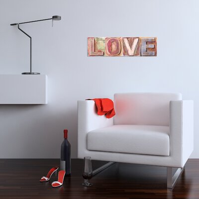 Cuadros Lifestyle Love Lettering Wall Décor