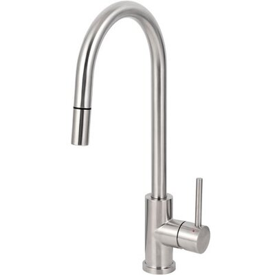 Caressi Elegant Single Handle Surface Mounted Monobloc Mixer Tap with Pull-Out Head