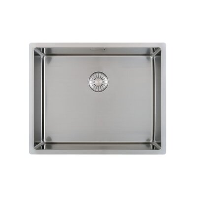 Caressi R10 Series 54cm x 44cm Single Kitchen Sink