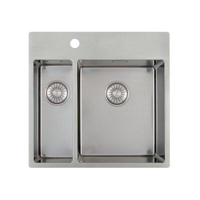 Caressi R10 Series 55cm x 52cm Kitchen Sink