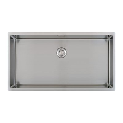 Caressi R10 Series 78cm x 44cm Single Kitchen Sink