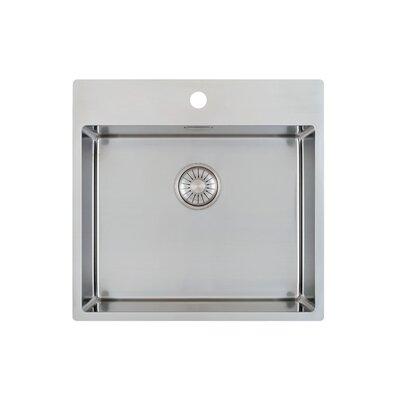 Caressi R10 Series 54cm x 52cm Single Kitchen Sink