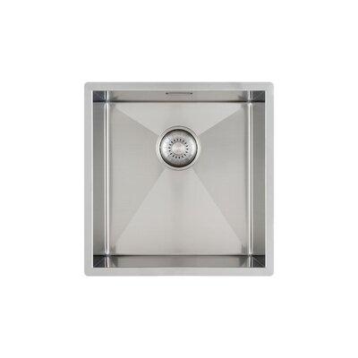 Caressi R6R0 Series 44cm x 44cm Zero Radius Kitchen Sink