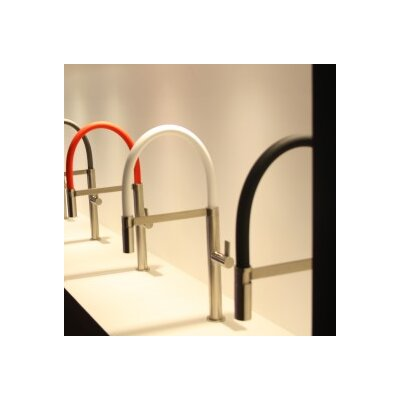 Caressi Single Handle Surface Mounted Monobloc Mixer Tap with 3 Piece Tube Set