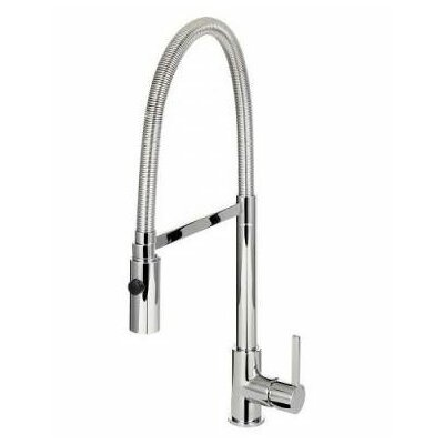 Caressi Single Handle Surface Mounted Monobloc Mixer Tap with Shower Spray Option