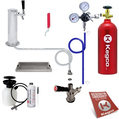 Ultimate Tower Kegerator Conversion Kit with 5 lb. CO2 Tank
