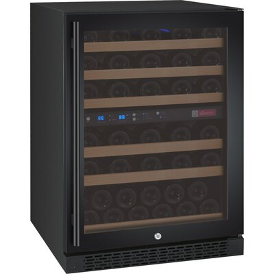 56 Bottle FlexCount Series Dual Zone Freestanding Wine Cooler