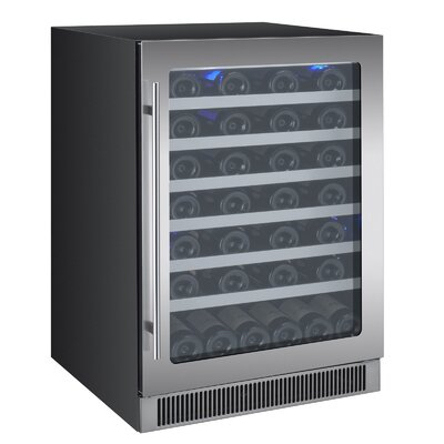 55 Bottle Reserva Series Single Zone Built-In Wine Cooler