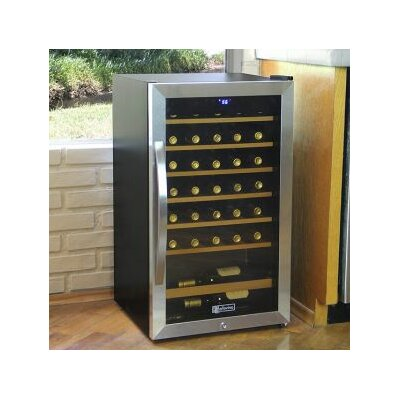 34 Bottle Cascina Single Zone Freestanding Wine Cooler