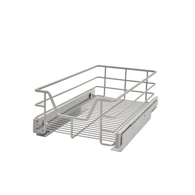 """Single Tier Cabinet Pull Out Drawer Size: 6.3"""" H x 11"""" W x 18.8"""" D"""