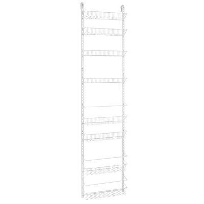 8-Tier Adjustable Cabinet Door Organizer Size: 18'' W