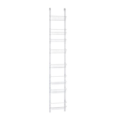 8-Tier Adjustable Cabinet Door Organizer Size: 12'' W