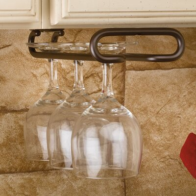 Hanging Wine Glass Rack Finish: Oil Rubbed Bronze