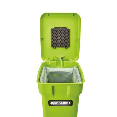 Double Waste Containe 6 Gal. Kitchen Composter