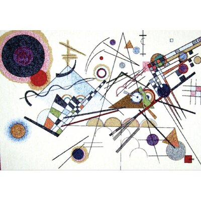GK Art Sprl Composition VIII by Vasily Kandinsky Tapestry