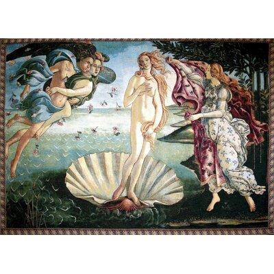 GK Art Sprl The Birth of Venus by Botticelli Tapestry