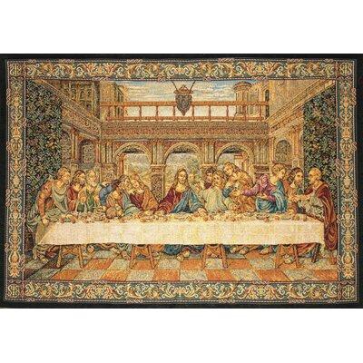 GK Art Sprl The Last Supper by Da Vinci Tapestry