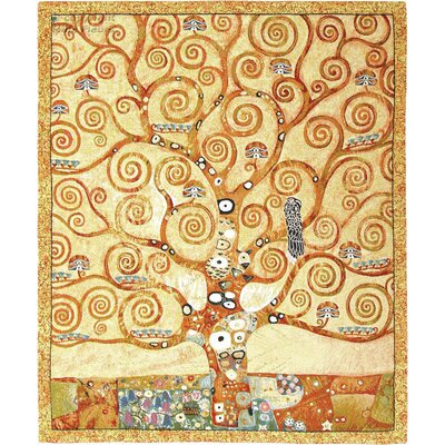 GK Art Sprl Tree of Life Close by Gustav Klimt Tapestry