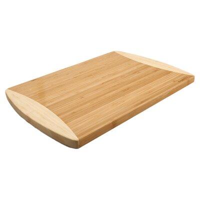 "Studio Bamboo Chopping Board Size: 1"" H x 12"" W x 8"" D"