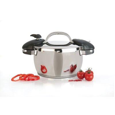 Zeno Pressure Cooker Size: 6.35 quart