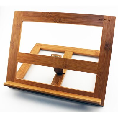 Bamboo Cookbook/Tablet Holder