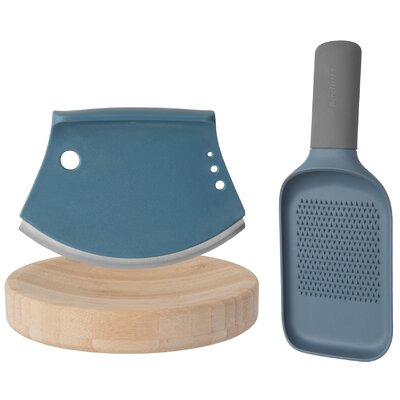 Leo 2 Piece Cutter and Grater Set